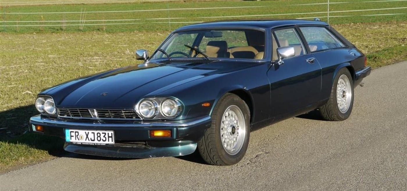 THE ESTATE CAR FOR PEOPLE WHO PREFER TO DRIVE AN XJS | DRIVETRIBE