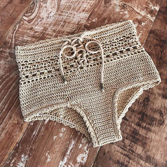 Pdf File For Crochet Pattern Angela Crochet Bikini Bottom Sizes Xs