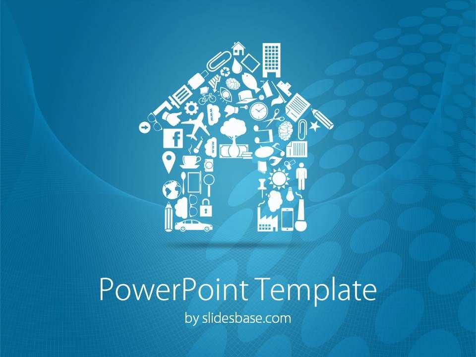 house-home-real-estate-agent-sell-buy-house-formed-from-icons, Modern powerpoint