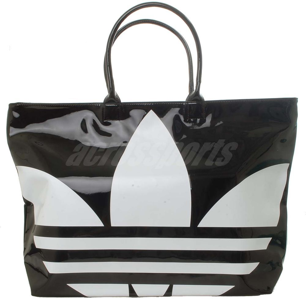Adidas Originals Beachshopper PA Womens Female Tote Bag Black ...