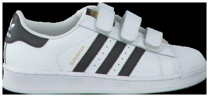 Witte ADIDAS Sneakers SUPERSTAR FOUNDATION   schoenen
