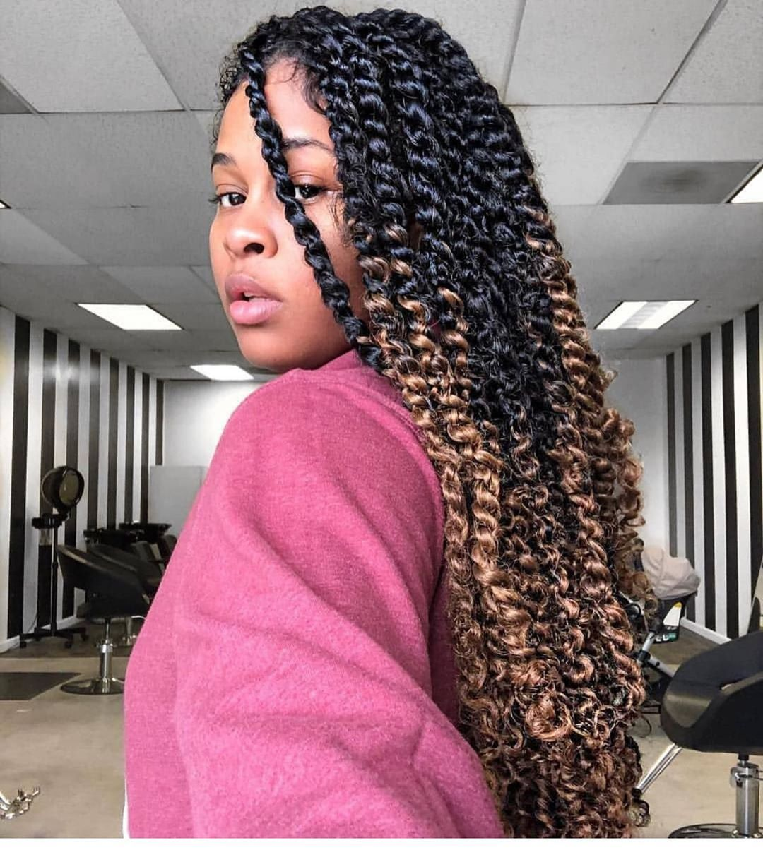 "Hairstyles For Black Women on Instagram: ""Pretty 😍👌🏾💁🏾‍♀️ Tag the source and Friends 👭. (Dm f ..."