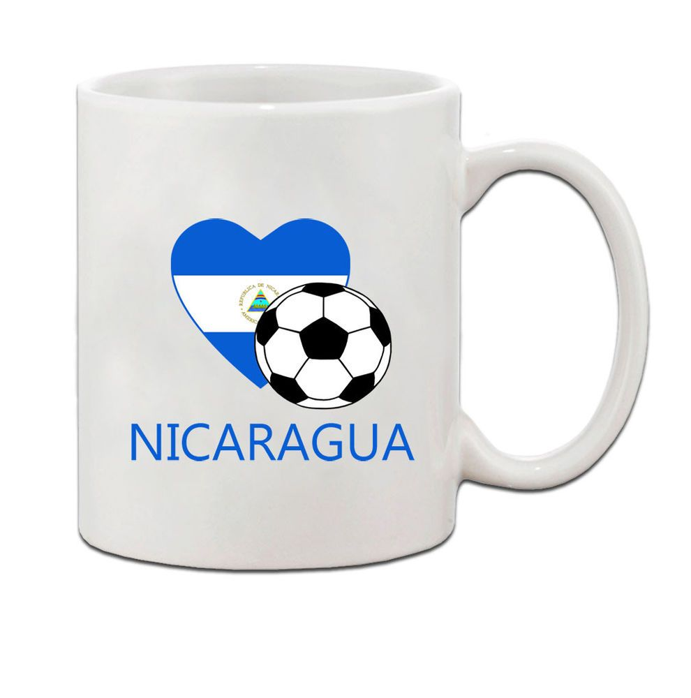 Nicaragua Soccer Flag Country Ceramic Coffee Tea Mug Cup  | Home & Garden, Kitchen, Dining & Bar, Dinnerware & Serving Dishes | eBay!