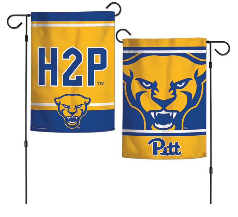Pitt Panthers 12x18 Inch 2 Sided Garden Flag 5717592 Pitt Panthers Pittsburgh Panthers Panthers