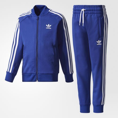 adidas SST Graphic W track top blue
