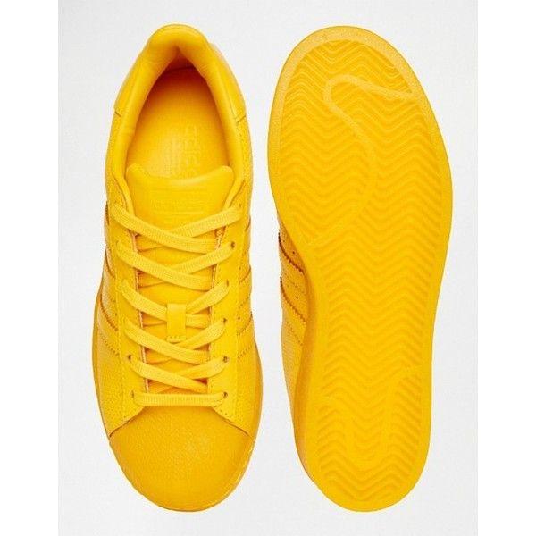 adidas Originals Superstar Super Colour Sneaker in Gelb (378220 ...
