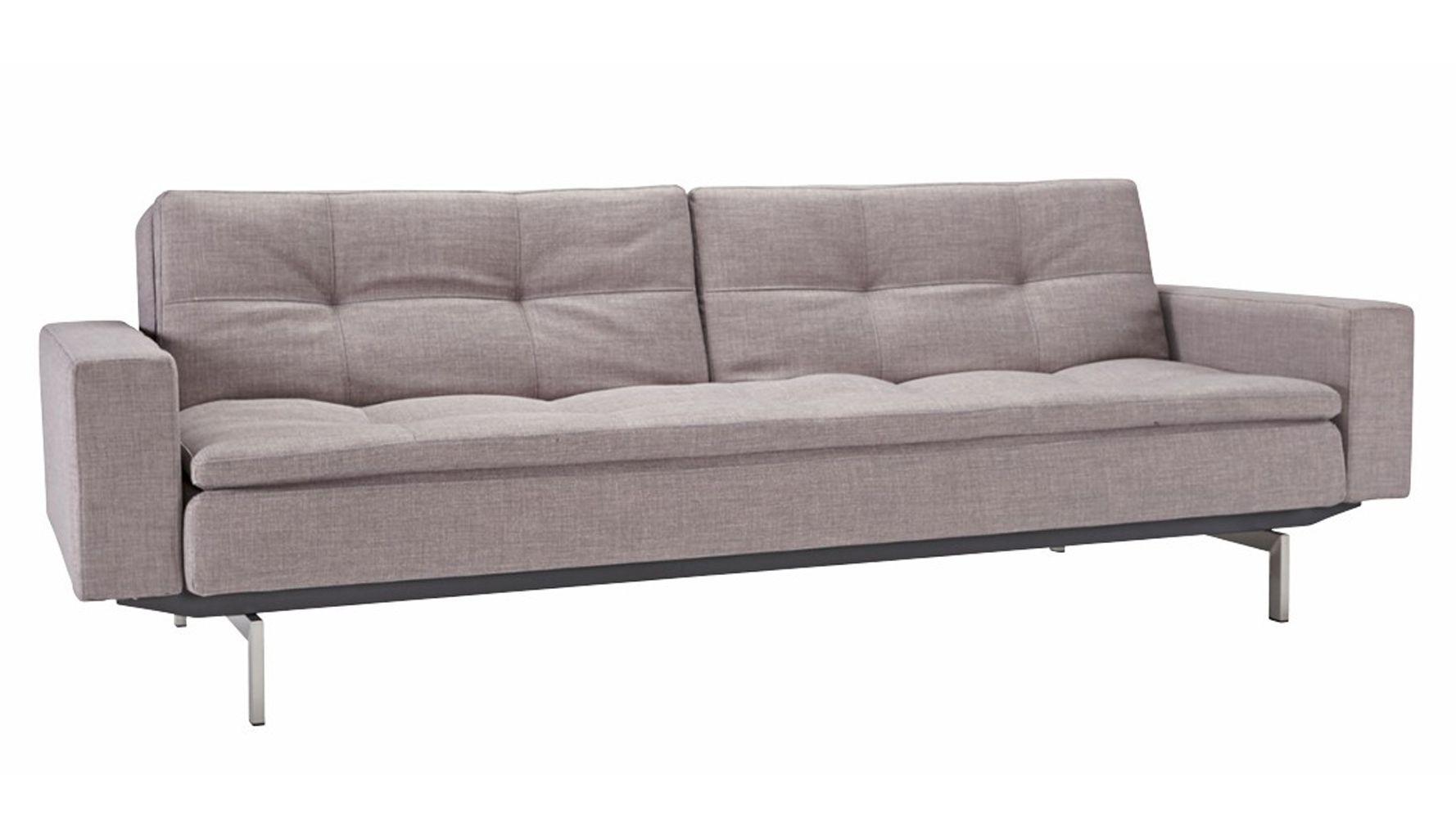 Metroplex Stainless Steel Sofa With Arms Modern Sleeper Sofa