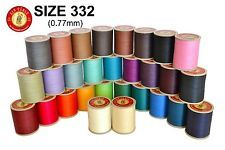 "New Sajou Fil au Chinois ""Lin Cable"" Linen Thread - (Size 332 - All 31 Colors)"