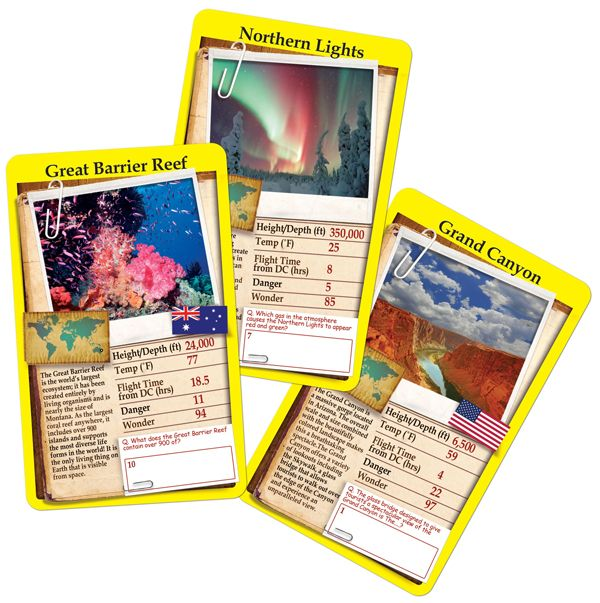 Top Trumps Rules >> Top Trumps Card Game Wonders Of The World Educational