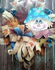 Scarecrow Wreath Fall Harvest Autumn Deco Mesh Wreath Front Door Decor  #Holiday…