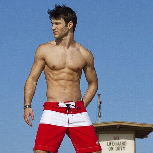 Sexy male lifeguards