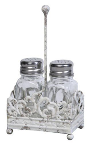 Vintage Style Salt and Pepper Shakers Home Decor by Creative Co-op