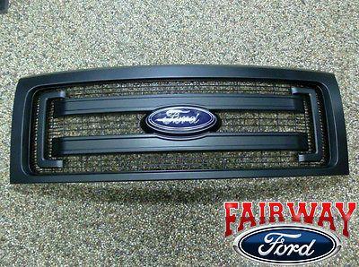 2009 Thru 2014 F 150 Oem Genuine Ford Parts Black Xl Model Grille W Emblem Ebay Ford Parts Ford 2014 Ford F150