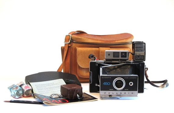 Polaroid 450 Camera Case and Accessories by lakesidecottage, $69.00
