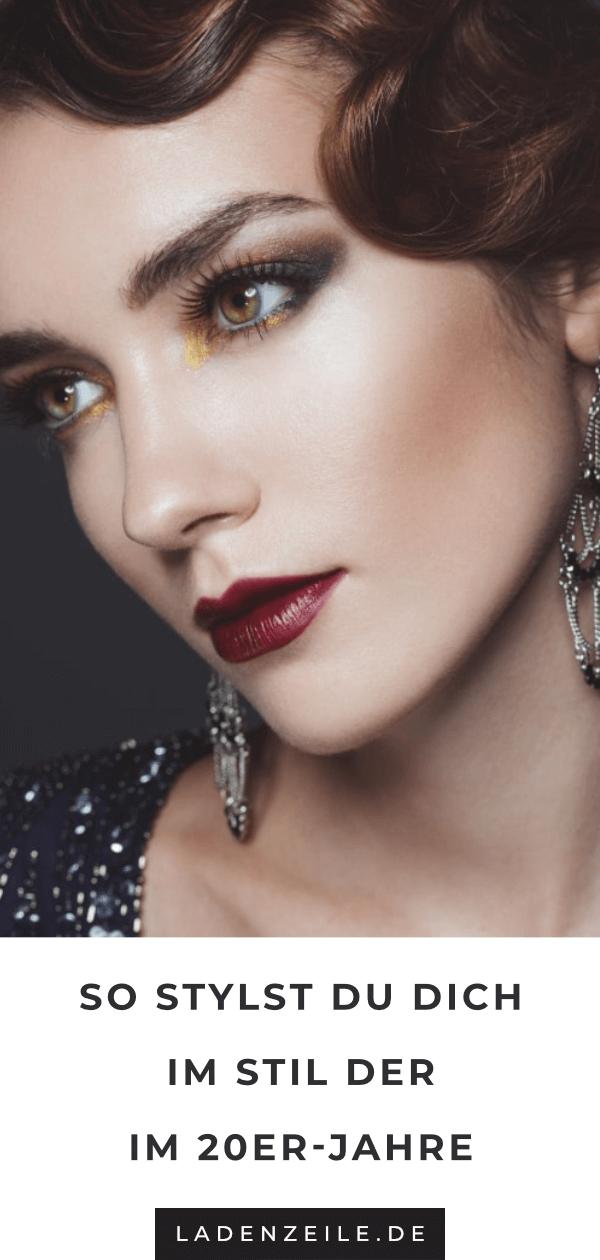 Vom Make-Up bis zum Flapper-Dress: Tipps für eine gelungene 20-er Jahre Party #1920smakeup