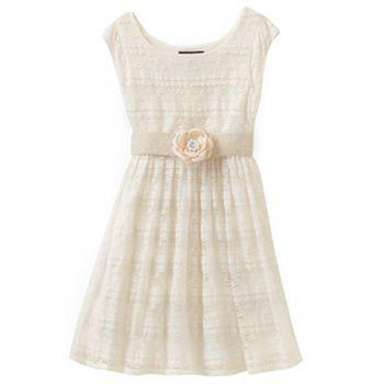 My Michelle Lace Drop Waist Dress Girls 7 16 Girls