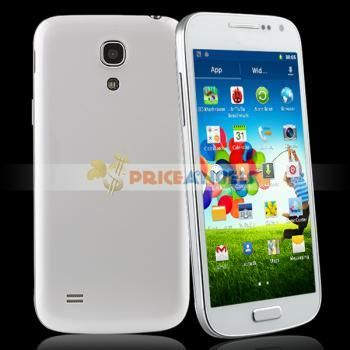 => Mini S4 Full-scale MTK6515 Quad Band Smartphone Android 4.2.2 With Wi-Fi 4.35 Inch QHD Capacitive Touch Screen(White) - SmartPhone
