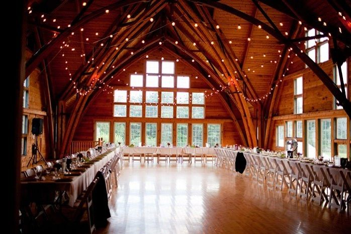Real Weddings Paige And Paul S Rustic Massachusetts Farm Wedding Massachusetts Wedding Venues Farm Wedding Small Intimate Wedding