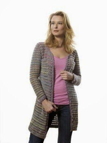 MNE Crafts: Jacket Round-Up - 10 Free Crochet Patterns