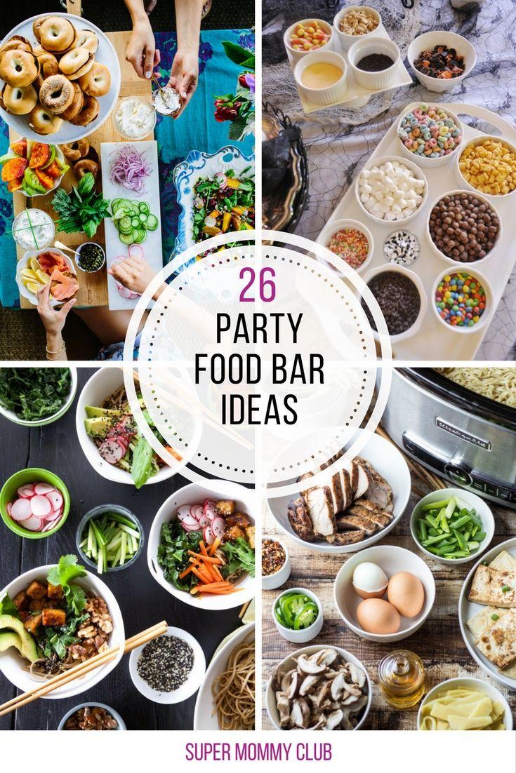 Elegant Asian Food Bar Ideas