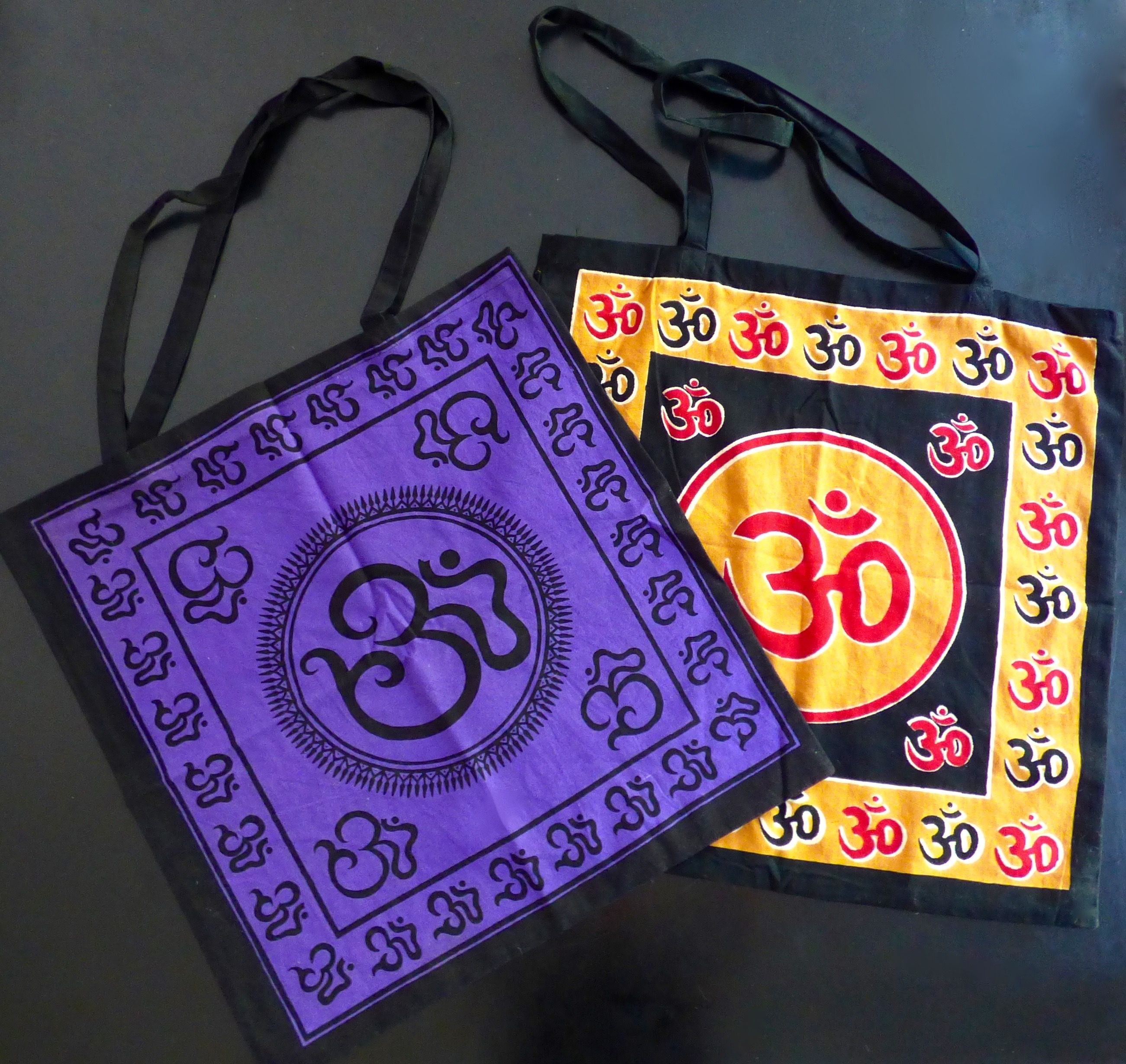 OM Totes - A Loved Earth