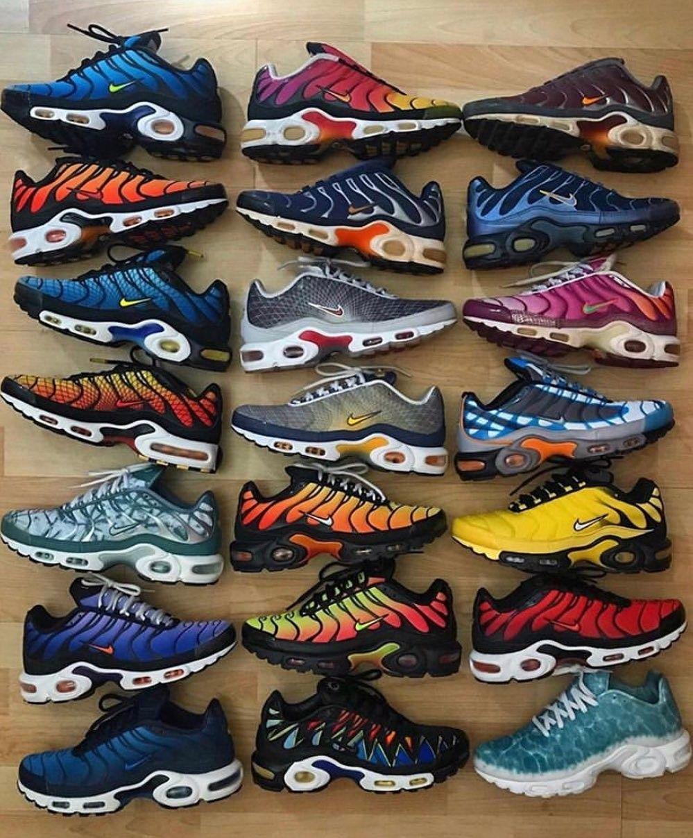 LOVE ❤#NIKE TN ????#SNEAKERS | Nike air shoes, Nike air max tn, Nike tn