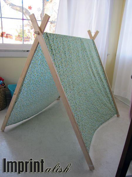 Imprintalish: For the Kids-DIY A Frame Tent | LPS | Pinterest ...