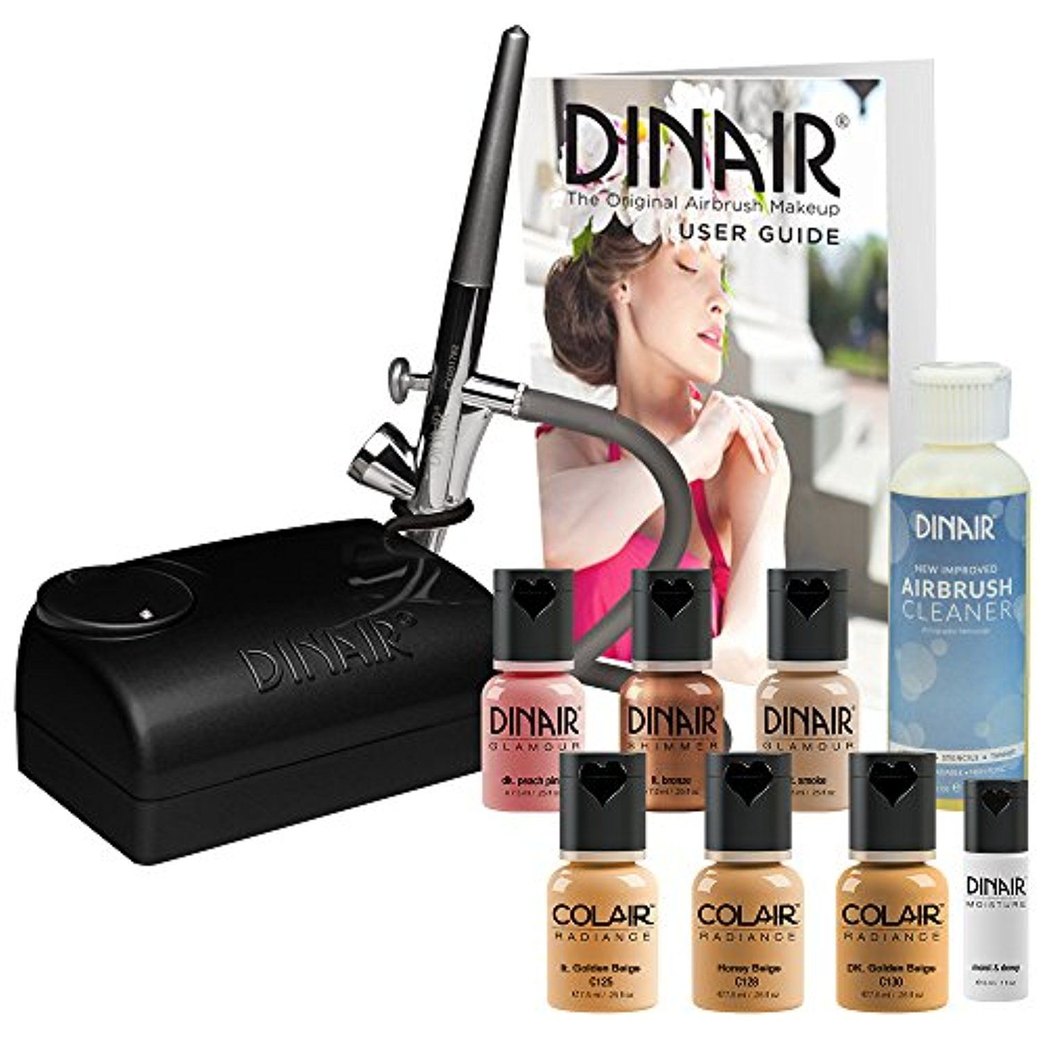 The Original Dinair Airbrush Makeup Starter Kit Medium