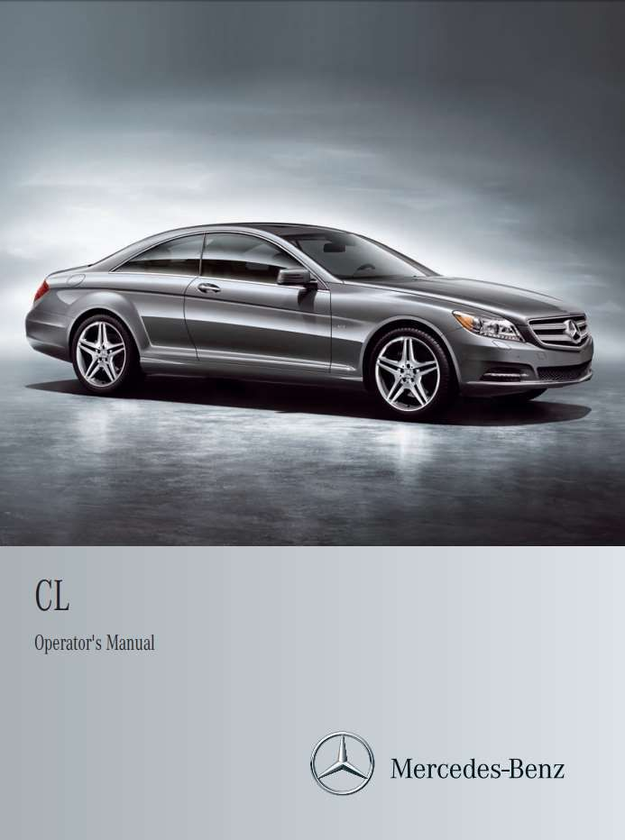 Mercedes Benz Cl Class 2012 Owner S Manual Has Been Published On Procarmanuals Com Https Procarmanuals Com Mercedes Benz Mercedes Benz Cl Mercedes Benz Benz
