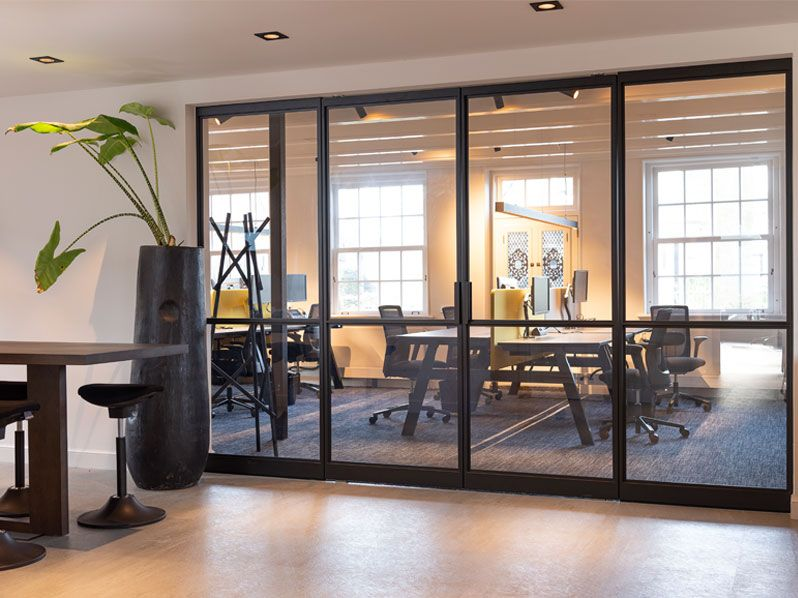 Steel pivot doors: an addition to any home