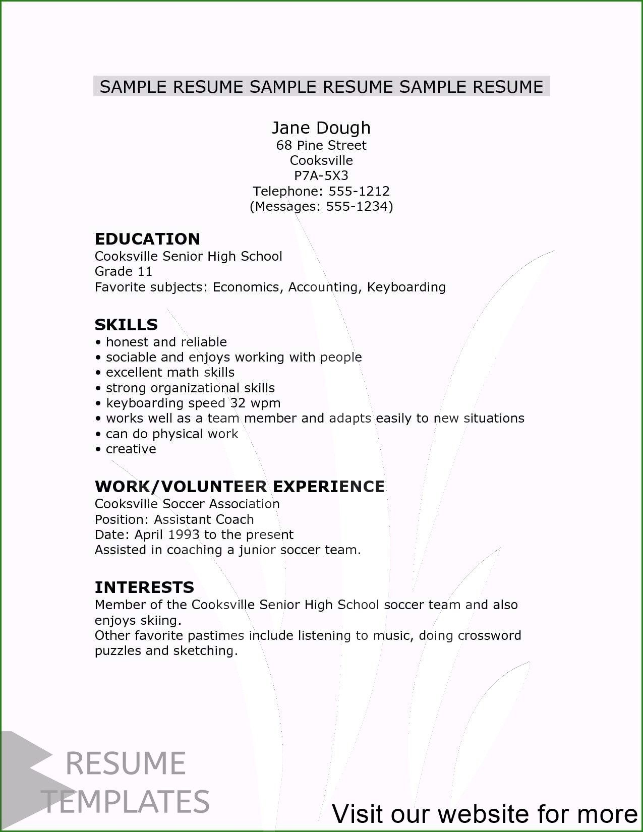 resume builder free online download in 2020 Resume cover