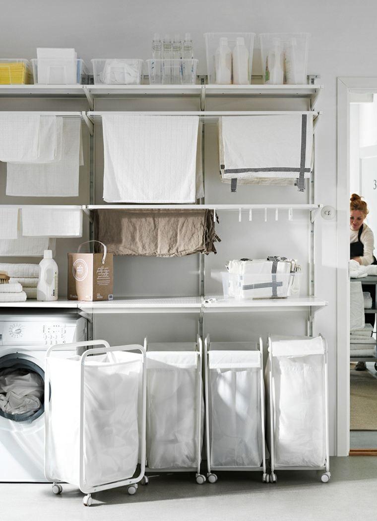 Waschmaschinenschrank Fur Eine Praktische Waschkuche Ikea
