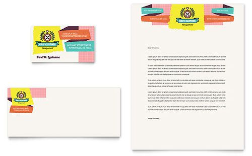 Kids Consignment Shop Letterhead Template  Download