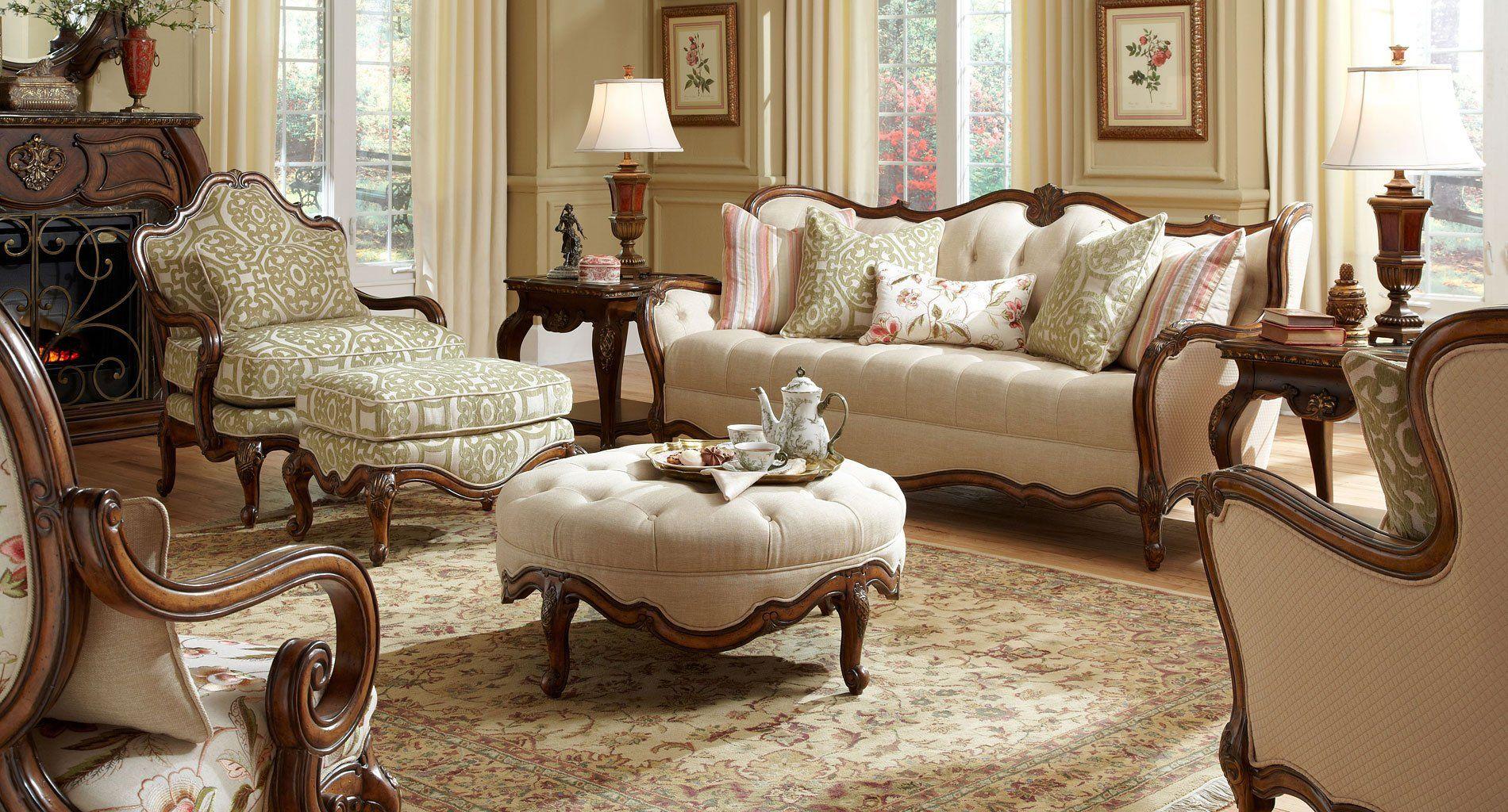 Lavelle Melange Living Room Set Victorian Living Room Vintage Living Room Design Vintage Living Room