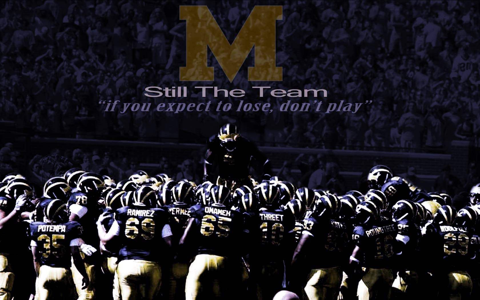 Image Result For Michigan Football Desktop Wallpaper Michigan Football Michigan Go Blue Michigan Wolverines Football