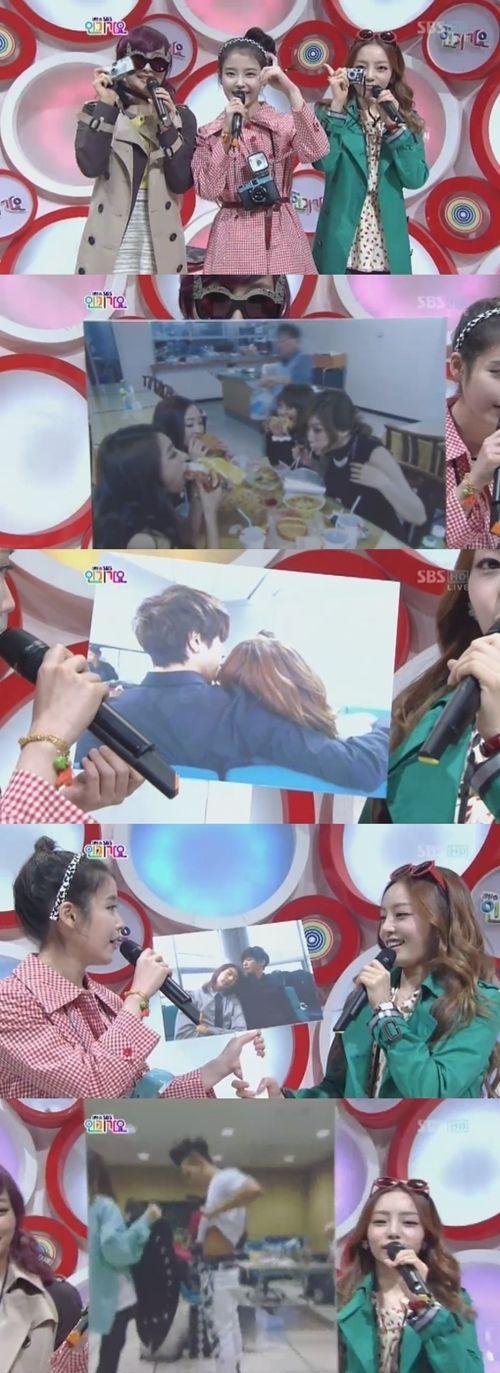IU, Goo Hara & Nicole transform into paparazzi on 'Inkigayo' #allkpop #kpop #IU #GooHARA #KARA