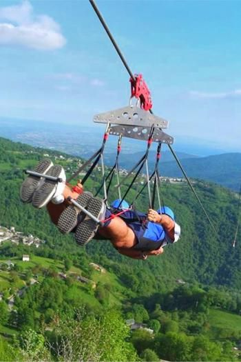 How To Go Zip Lining In Italy The Adventure Found Me Ziplining Italy Travel Guide Travel