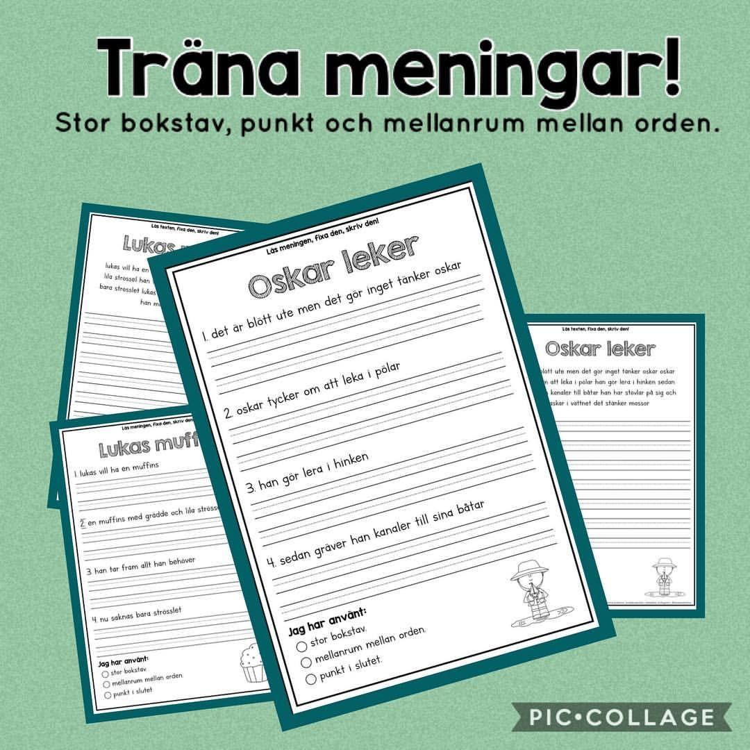 Posts tagged as #svenskundervisning | Picdeer | Mo åk1