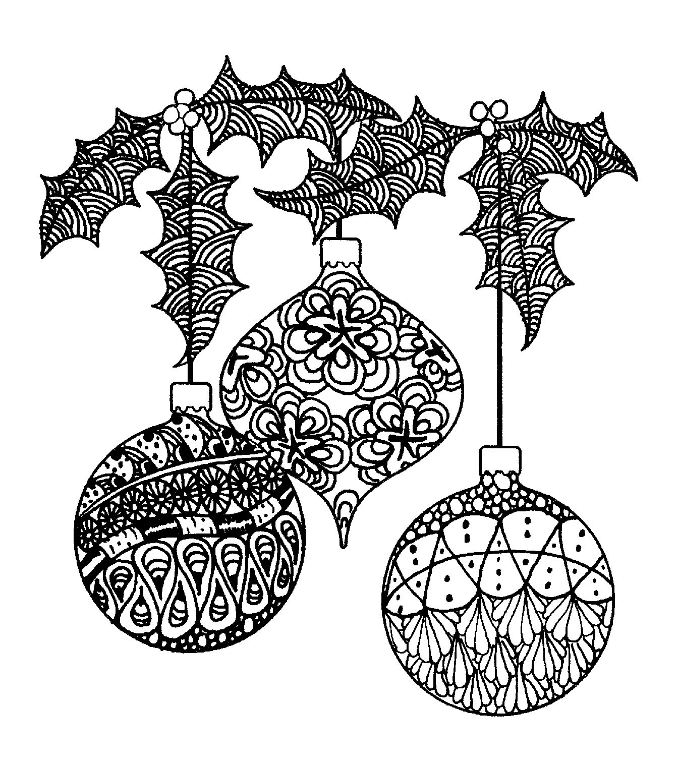 Magenta Zentangle Ornaments Rubber Cling StampsMagenta Zentangle ...