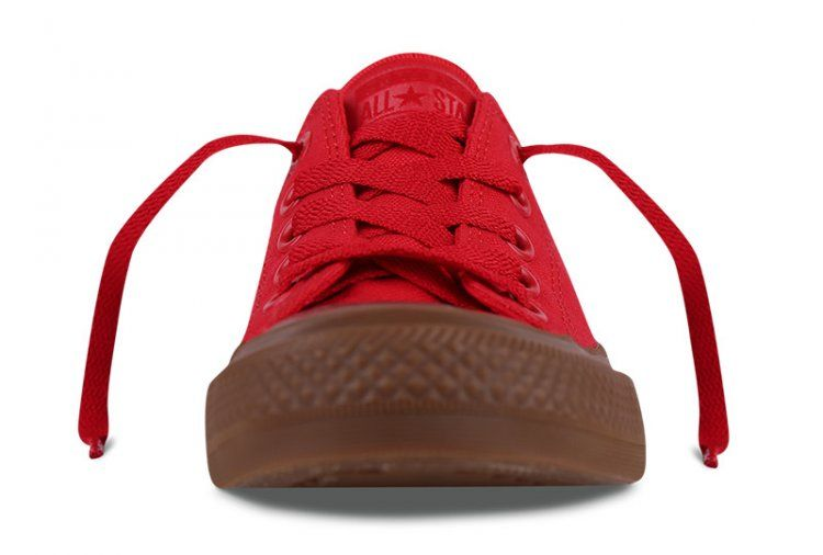 339f05d77ff7 Converse Chuck II Gum Low Top Cherry Red Canvas All Star Shoes  converse   shoes