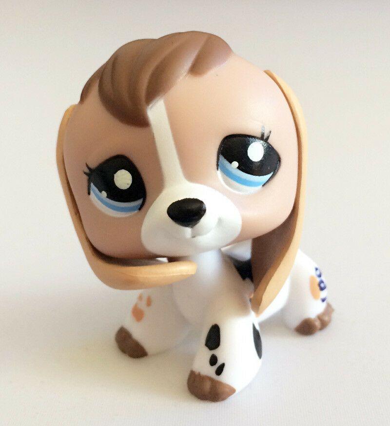 Lovely LPS FIGURE #2207 brown Dog COLLECTION LITTLEST PET SHOP Action Figure