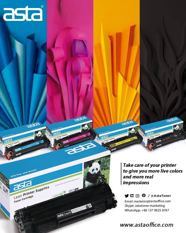 Compatible toner cartridges #ASTA, #printer,#toner