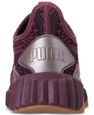 dd054533ce002f Puma Women s Defy Luxe Casual Sneakers from Finish Line - Purple 8.5 ...