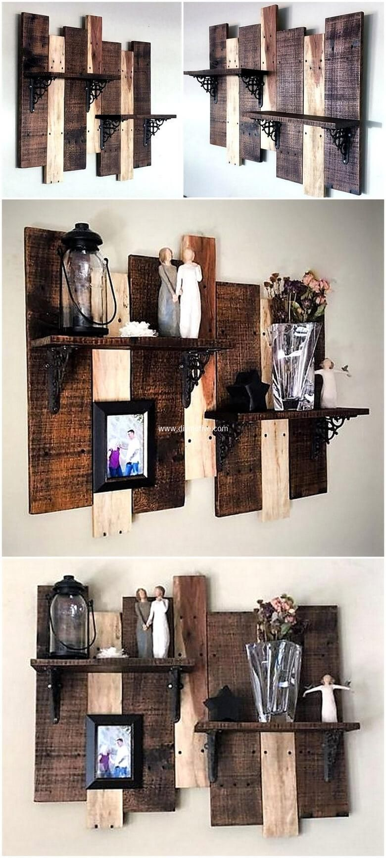 DIY Wooden Pallet Furniture Ideas That Illustrates