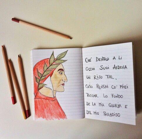Dante La Divina Commedia Paradiso Canto Xv Decoración