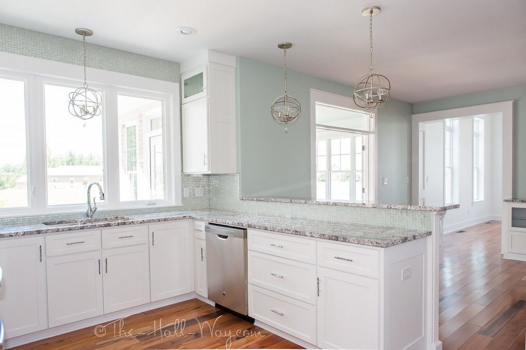 Southern Living Eastover Cottage - White Kitchen (SW Extra White ...
