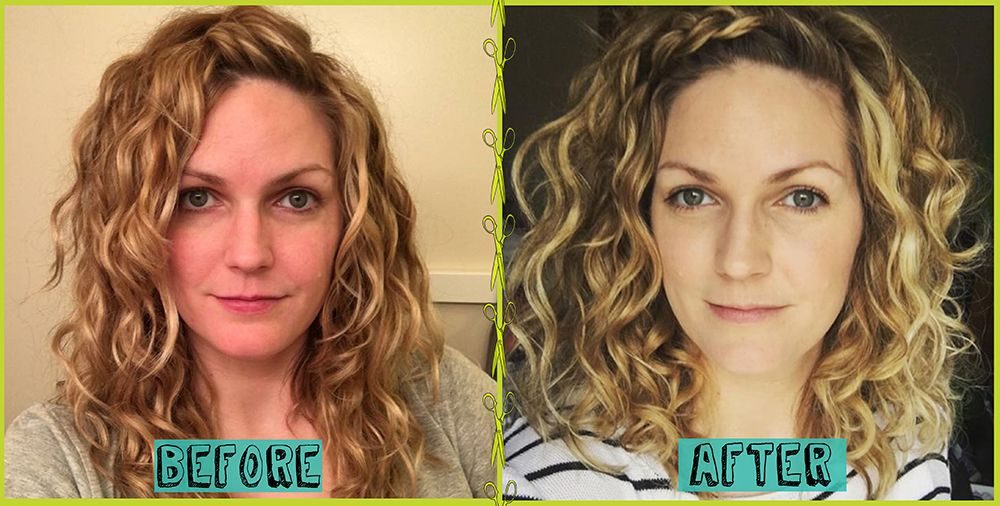 Devacut Before Afters That Will Make Your Jaw Drop Devacurl Blog Curly Hair Tips Deva Curl Haircut Deva Curl