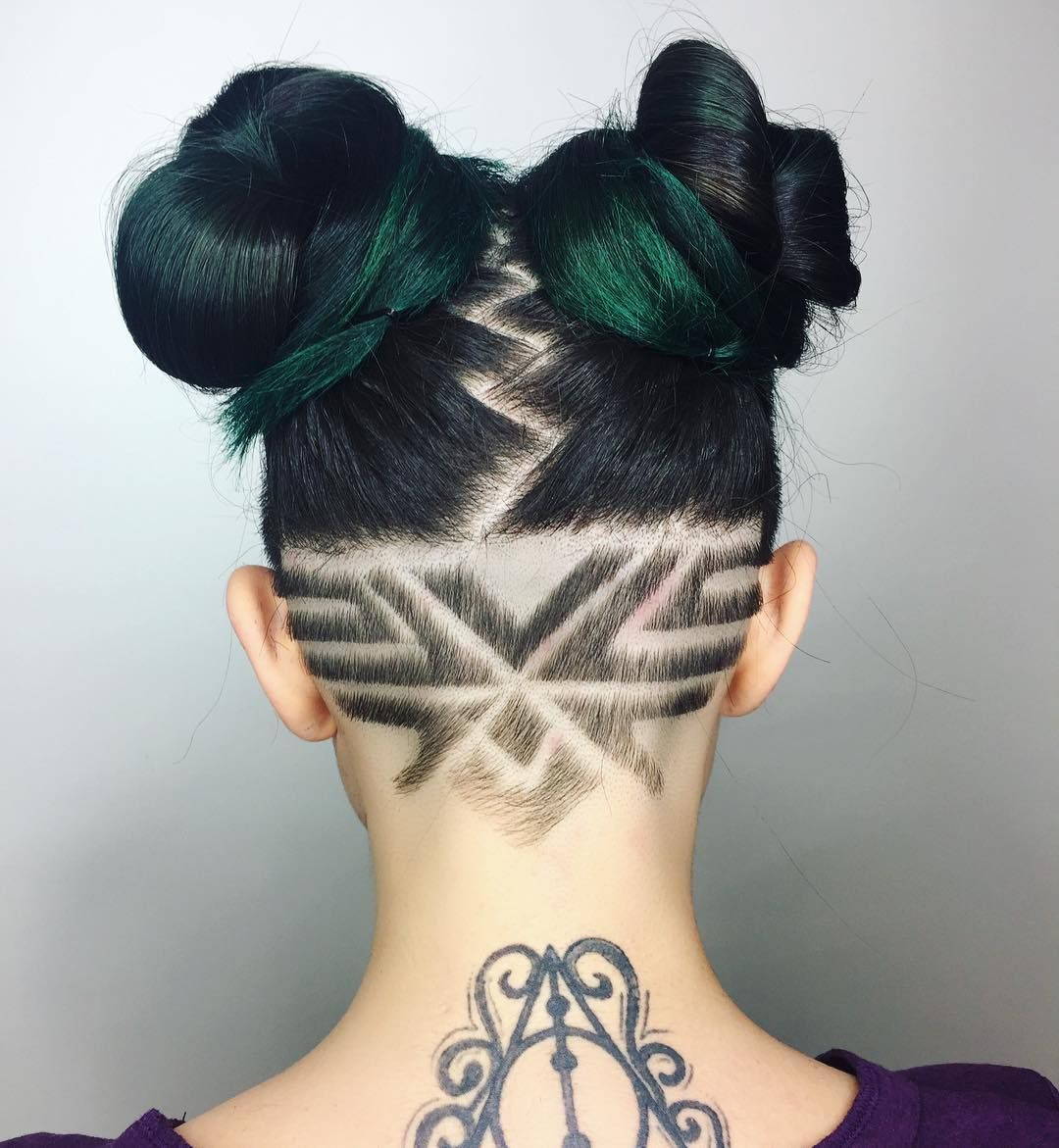 pin by gretchen vaughn on undercut ideas - haircuts and
