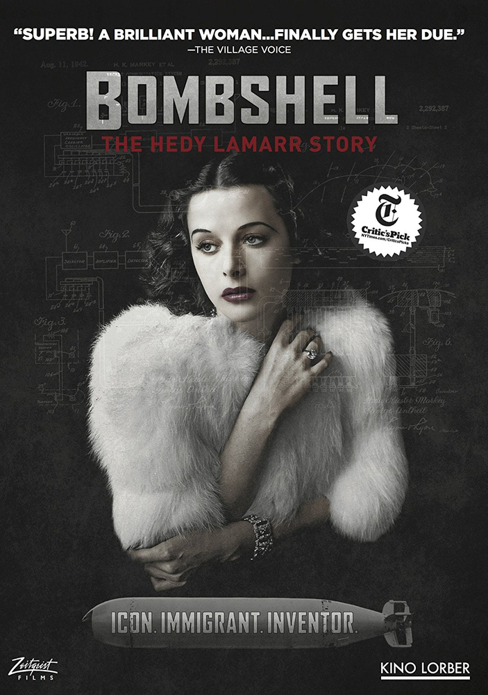 Bombshell The Hedy Lamar Story Dvd 2017 Hedy Lamarr Hedy
