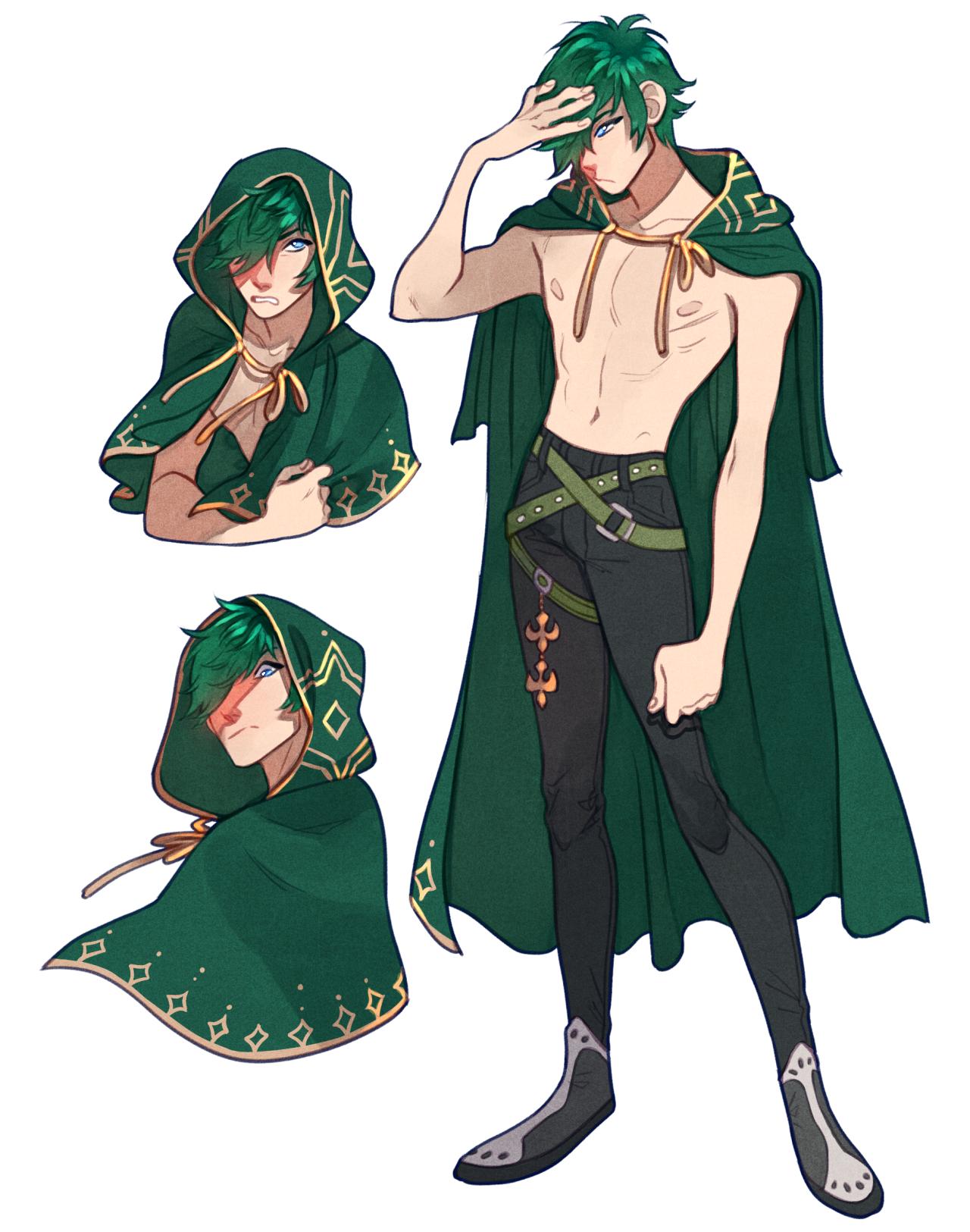 commission alavels Design de personagens masculino